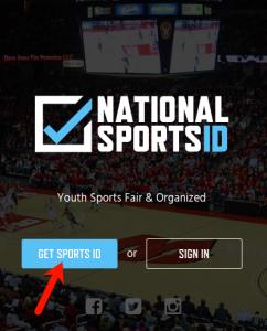 1 - Get Sports ID