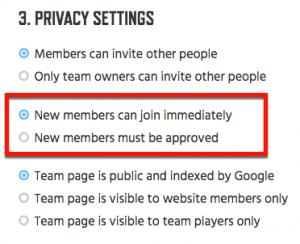 17 - Members Can Join Immediately