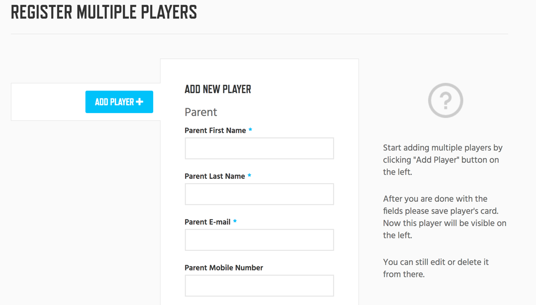 2 - Add Verify Players
