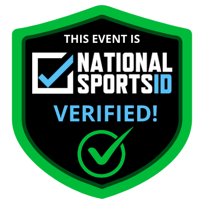 Having this badge means the youth sporting event is NSID verified.