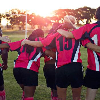Girls play sports less than boys