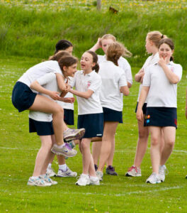 girls' participation in sports